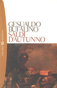 Saldi d'autunno - Gesualdo Bufalino - copertina