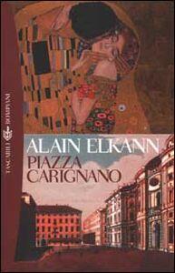 Libro Piazza Carignano Alain Elkann