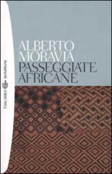 Passeggiate africane - Alberto Moravia - copertina