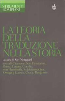 La teoria della traduzione nella storia - copertina
