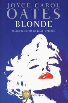 Blonde - Joyce Carol Oates - copertina