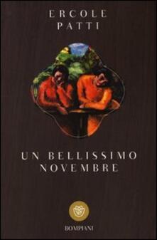 Un bellissimo novembre - Ercole Patti - copertina