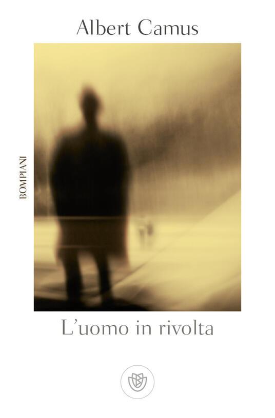 L' uomo in rivolta - Albert Camus - copertina