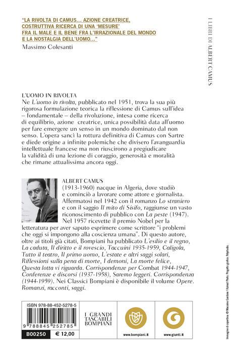 L' uomo in rivolta - Albert Camus - 2