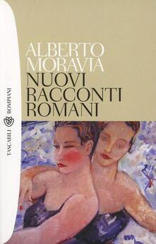 Nuovi racconti romani - Alberto Moravia - copertina
