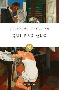 Libro Qui pro quo Gesualdo Bufalino