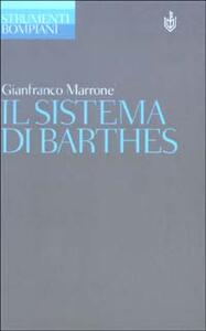 Il sistema di Barthes
