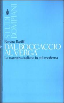 Lpgcsostenible.es Dal Boccaccio al Verga. La narrativa italiana in età moderna Image