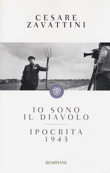 Io sono il diavolo-Ipocrita 1943 - Cesare Zavattini - copertina
