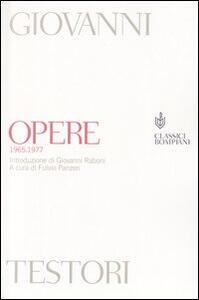 Opere (1965-1977)