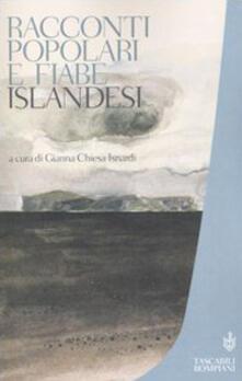 Racconti popolari e fiabe islandesi - copertina