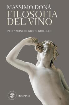 Filosofia del vino - Massimo Donà - copertina