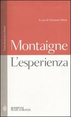 Libro L' esperienza. Testo francese a fronte Michel de Montaigne