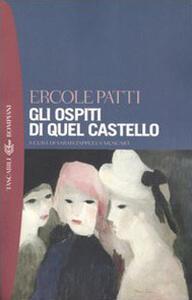 Gli ospiti di quel castello - Ercole Patti - copertina