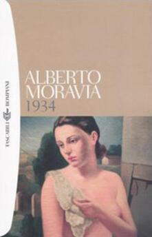 1934 - Alberto Moravia - copertina