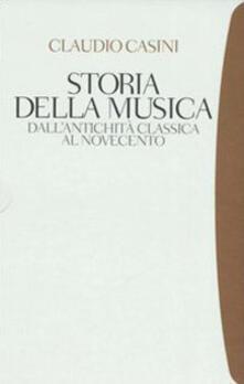 Voluntariadobaleares2014.es Storia della musica. Dall'antichità classica al Novecento Image