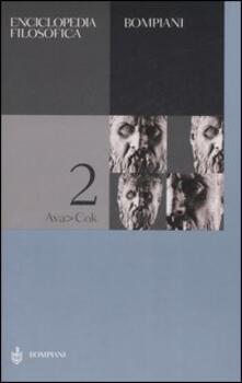 Antondemarirreguera.es Enciclopedia filosofica. Vol. 2: Ava-Cok. Image