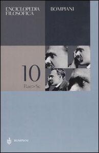 Foto Cover di Enciclopedia filosofica. Vol. 10: Rae-Sc., Libro di  edito da Bompiani