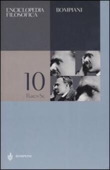 Nicocaradonna.it Enciclopedia filosofica. Vol. 10: Rae-Sc. Image