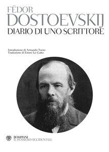 Foto Cover di Diario di uno scrittore, Libro di Fëdor Dostoevskij, edito da Bompiani