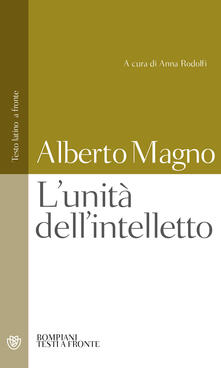 Vastese1902.it L' unità dell'intelletto. Testo latino a fronte Image