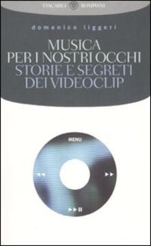 Musica per i nostri occhi. Storie e segreti dei videoclip - Domenico Liggeri - copertina