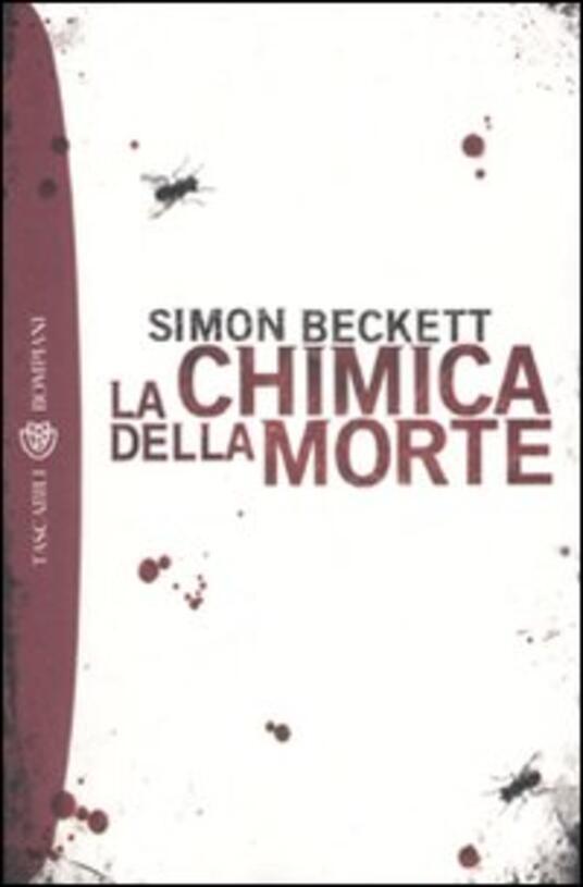 La chimica della morte - Simon Beckett - copertina