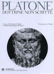 Platone. Dottrine non scritte. Testo greco a fronte.pdf
