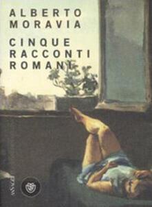 Cinque racconti romani - Alberto Moravia - copertina