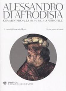 Radiospeed.it Commentario alla «Metafisica» di Aristotele. Testo greco a fronte Image