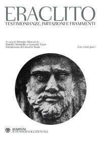 Testimonianze, imitazioni e frammenti. Testo greco a fronte