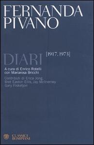 Diari (1917-1973) - Fernanda Pivano - copertina