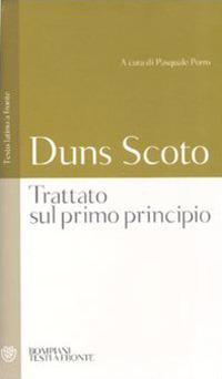 Image of Trattato sul primo principio. Testo latino a fronte