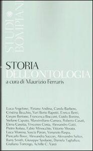Libro Storia della ontologia Maurizio Ferraris
