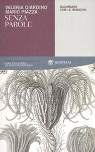Libro Senza parole. Ragionare con le immagini Mario Piazza , Valeria Giardino