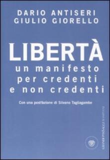 Amatigota.it Libertà. Un manifesto per credenti e non credenti Image