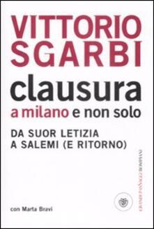 Camfeed.it Clausura a Milano e non solo. Da suor Letizia a Salemi (e ritorno) Image