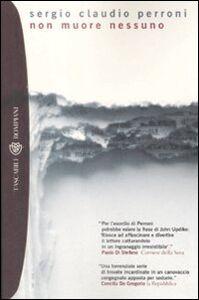 Foto Cover di Non muore nessuno, Libro di Sergio C. Perroni, edito da Bompiani