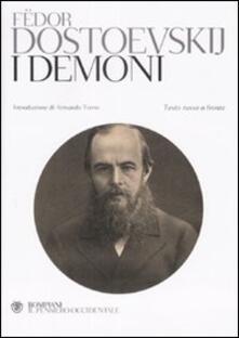 I demoni. Testo russo a fronte - Fëdor Dostoevskij - copertina