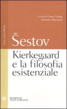 Aboutschuster.de Kierkegaard e la filosofia esistenziale. Testo russo a fronte Image