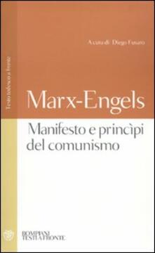 Equilibrifestival.it Manifesto e princìpi del comunismo. Testo tedesco a fronte Image