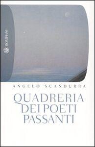 Libro Quadreria dei poeti passanti Angelo Scandurra
