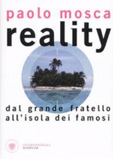 Voluntariadobaleares2014.es Reality. Dal «Grande fratello» all'«Isola dei Famosi» Image
