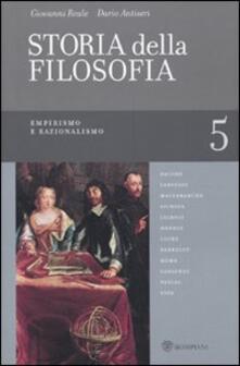 Nicocaradonna.it Storia della filosofia dalle origini a oggi. Vol. 5: Empirismo e razionalismo. Image