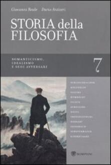 Winniearcher.com Storia della filosofia dalle origini a oggi. Vol. 7: Romanticismo, Idealismo e suoi avversari. Image