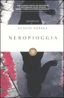 Neropioggia - Flavio Soriga - copertina