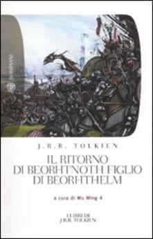 Il ritorno di Beorhtnoth figlio di Beorhthelm - John R. R. Tolkien - copertina
