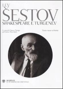 Squillogame.it Shakespeare e Turgenev. Testo russo a fronte Image