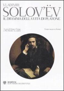 Libro Il dramma della vita di Platone. Testo russo a fronte Vladimir Sergeevic Solov'ëv