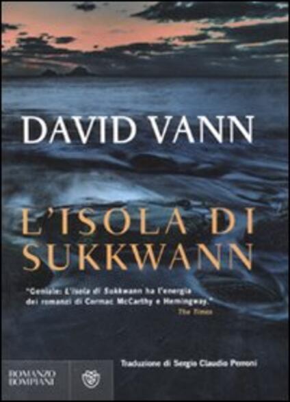 L' isola di Sukkvan - David Vann - copertina